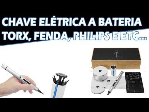Review Chave de Precisão Elétrica Portátil Fenda, Torx, Philips para Celulares e Eletrônicos