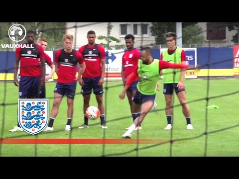 Behind the Goal – England U21 shooting session (2016 Toulon Tournament) | Inside Training