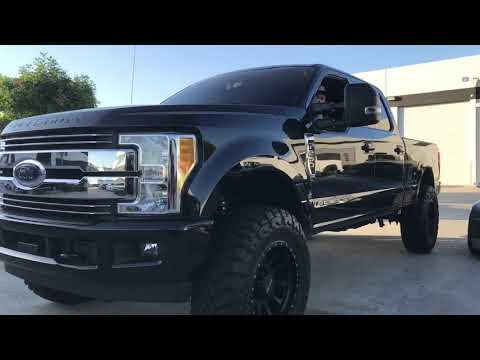 Ford F-250 Leveled Powerstroke Super Duty on MR605 & 37's