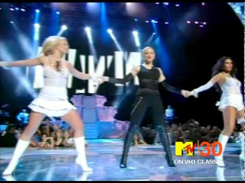 2003 MTV VMAs: Madonna, Britney Spears and Christina Aguilera feat. Missy Elliot - Medley of Songs