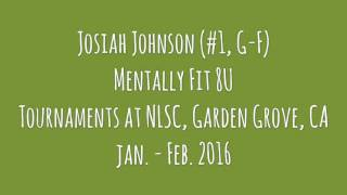 Josiah Johnson (MF8U) Jan-Feb 2016 Highlights