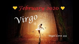 Virgo ♍️💖A clear message! February 2020 Tarot Reading