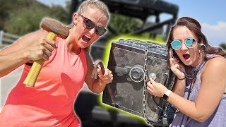 CRACKING THE ABANDONED MYSTERY SAFE!