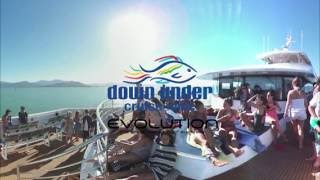 Amazing new interactive 360VR footage of the Great Barrier Reef- Down Under Cruise and Dive
