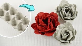 Repurpose Egg Carton Roses   Recycling & Upcycling Crafts