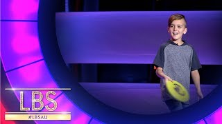 The Ultimate 9 Year Old Frisbee Trickster | Little Big Shots Australia