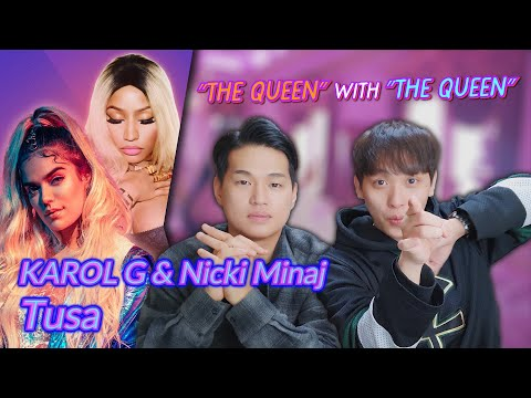 K-pop Artist Reaction] KAROL G, Nicki Minaj - Tusa