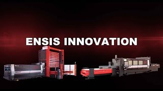 AMADA ENSIS-3015 fibre laser machine - hmong video