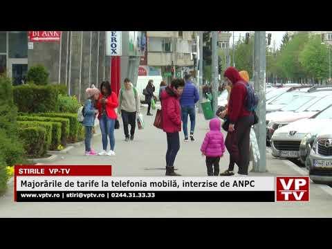 Majorările de tarife la telefonia mobilă, interzise de ANPC
