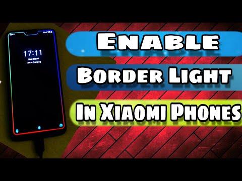 How to Set Border Light On Any Android Set Border light