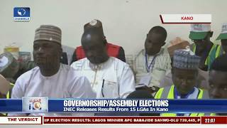 INEC Releases Results From 15 LGAs In Kano