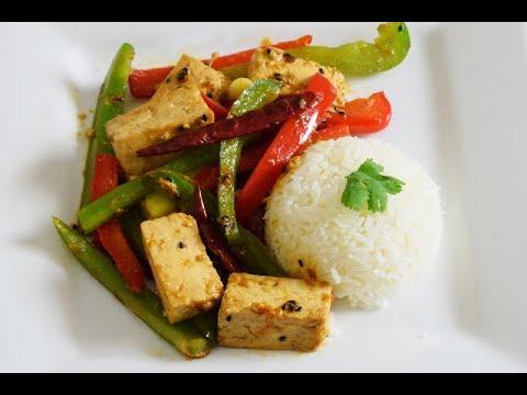 Salteado Vegetariano de Tofu, super rico y saludable!