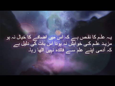 Best Urdu Quotes About Life | Weekly Islamic Quotes 2 | Aqwal e Zareen in Urdu