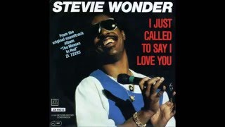 Stevie Wonder - I Just Called To Say I Love You (Extended Version 12 Special Mix) 1984  HQ