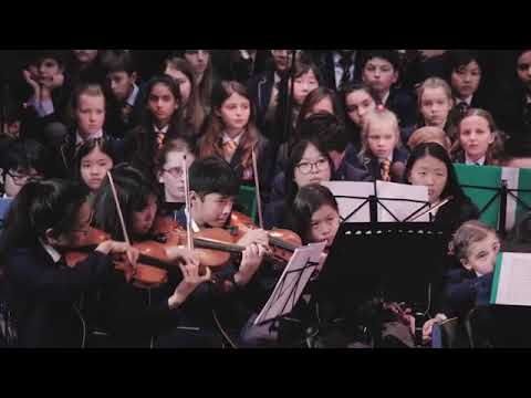 Me conducting our String Orchestra - mainly students who'd been playing strings for 1-2 years. More in video description on YouTube.