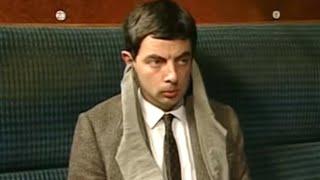 Noisy Train | Funny Clips | Mr Bean Official
