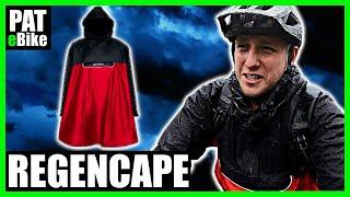 Wie gut ist ein Regencape fürs E- Bike fahren? | PAT