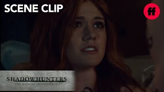 Shadowhunters | Season 2, Episode 17: Jace Comforts Clary From Bad Dream | Freeform