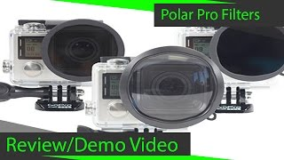Polar Pro GoPro Filter 3-Pack : Above Water Review