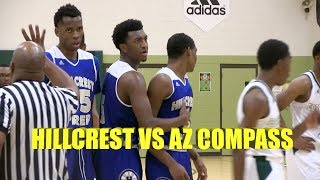 Hillcrest Prep & AZ Compass GO AT IT! Full Game Recap! Demarius Jacobs with 31 Kyree Walker 29