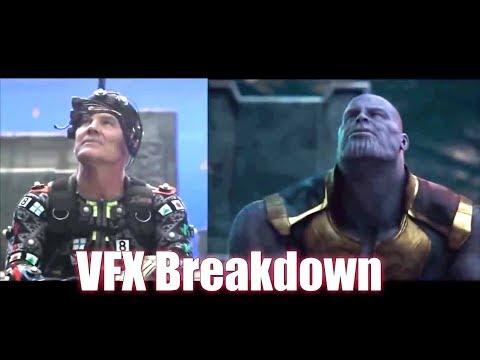 AVENGERS: INFINITY WAR VFX  breakdown   Thanos Tortures Nebula  [HD] Josh Brolin, Zoe Saldana