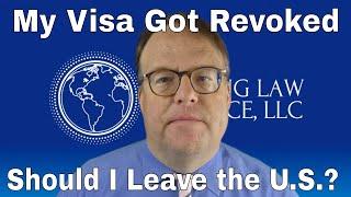 My Visa Got Revoked