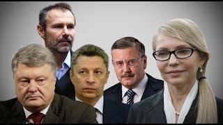 Претенденты в президенты кто победит Юля Зелененький Вакарчук или бандит рабинович