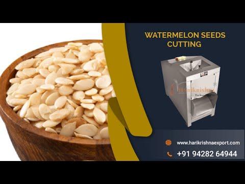 Watermelon Seeds Cutting Machine
