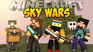 Minecraft SkyWars #6 - НЕВЕРОЯТНАЯ БИТВА КОМАНД