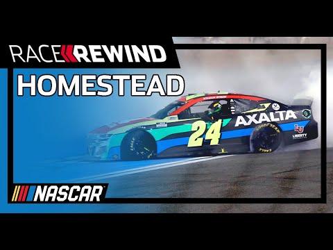 NASCAR ディーキーボドカ400(ホームステッドマイアミスピードウェイ)ハイライト動画