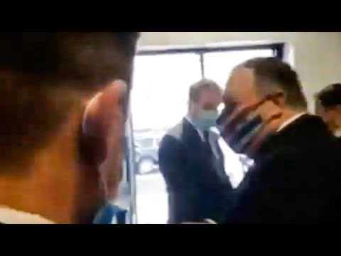 Mike Pompeo Runs Away from Reporter's Hard Questions