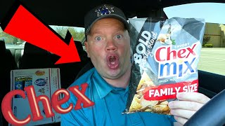 Chex Mix Savory Bold Party Blend Snack Mix (Reed Reviews)