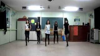 4Minute - HUH dance steps by the B.girls
