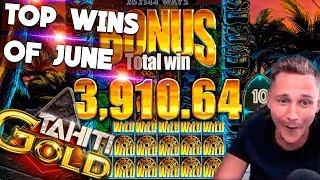 CasinoDaddy - TOP 5 Biggest Wins Of The June
