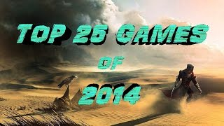 The Top 25 Games of 2014