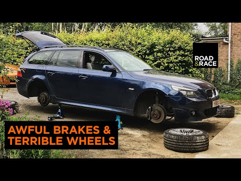 Fixing The AWFUL Brakes & Wheels On My Cheap BMW 5 Series  ( E60 / E61)