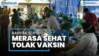 Banyak Sopir Bus di Kota Tangerang Tak Mau Disuntik Vaksin Covid-19 Gratis, Begini Alasannya