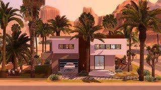 SIms 3 - Modern Hollywood mansion 1080p
