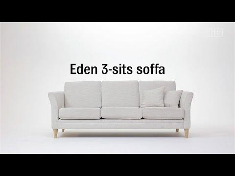 Produktbild - Eden, 3-sits soffa