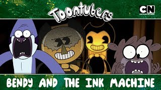 BENSON AND THE INK MACHINE.EXE | Toontubers | Cartoon Network