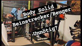 Body Solid Beinstrecker/Beinbeuger - ATX Aufsatz besser? Homegym Review