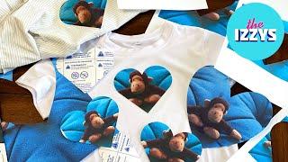 How Many Izzys Does It Take To Make A Cricut Iron-On Shirt?!