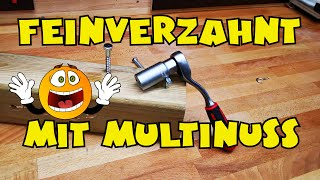 Lidl - Powerfix® Ratsche mit Multi-Stecknuss / Universalnuss