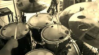 """While I'm waiting"" by travis greene. drum cover-"