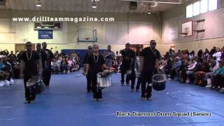 Black Diamond Drum Squad (Seniors) @ Johnny Hi Steppers 25th Annual Competition
