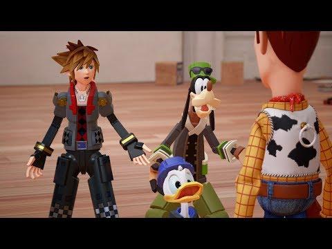 【王國之心 3】最新宣傳影片 進入《玩具總動員》的世界啦!