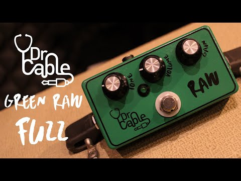 Dr. Cable Green RAW - Fuzz
