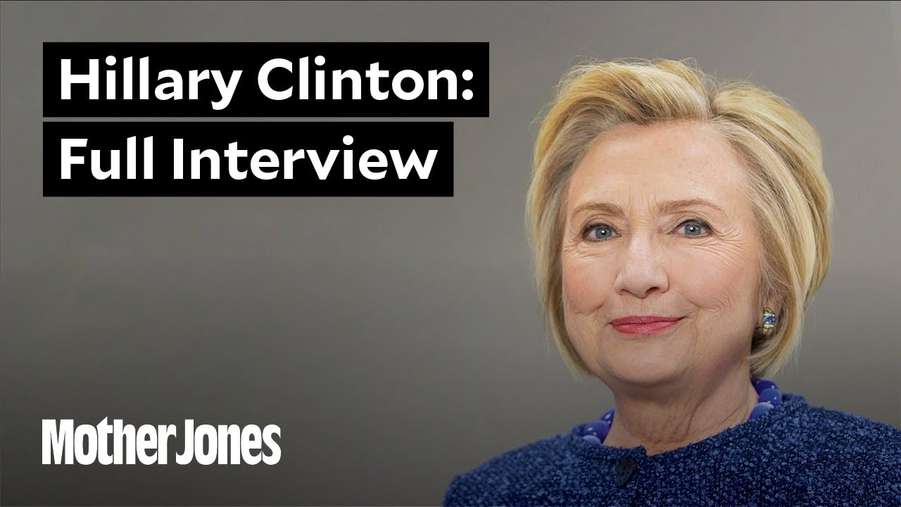 Hillary Clinton Sits Down With Mother Jones: The Interview thumbnail