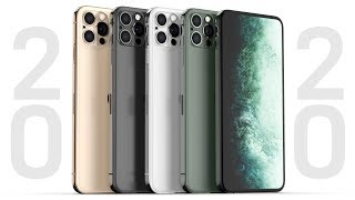 2020 iPhone Leaks Have Begun! New Design, No Notch, Glowing Logo