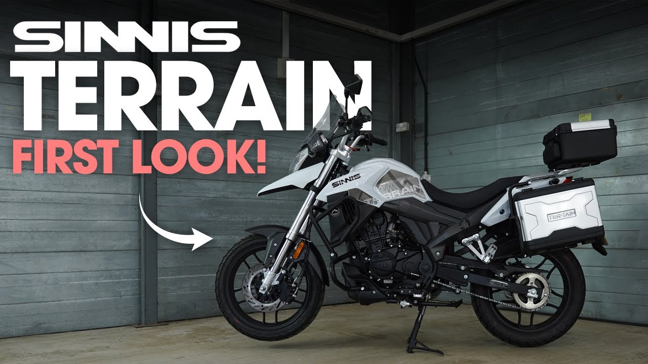 Sinnis Terrain 125 Euro 5 | First Look and Specs!